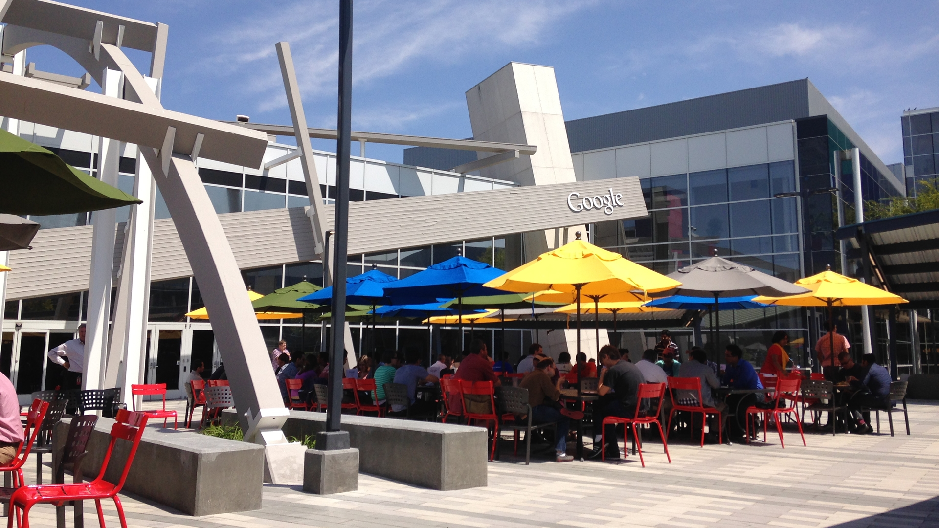 Googleplex patio